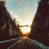 Sončni zahod Planina-Postojna