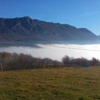 Zelo nenavaden pojav za Vipavsko dolino.
