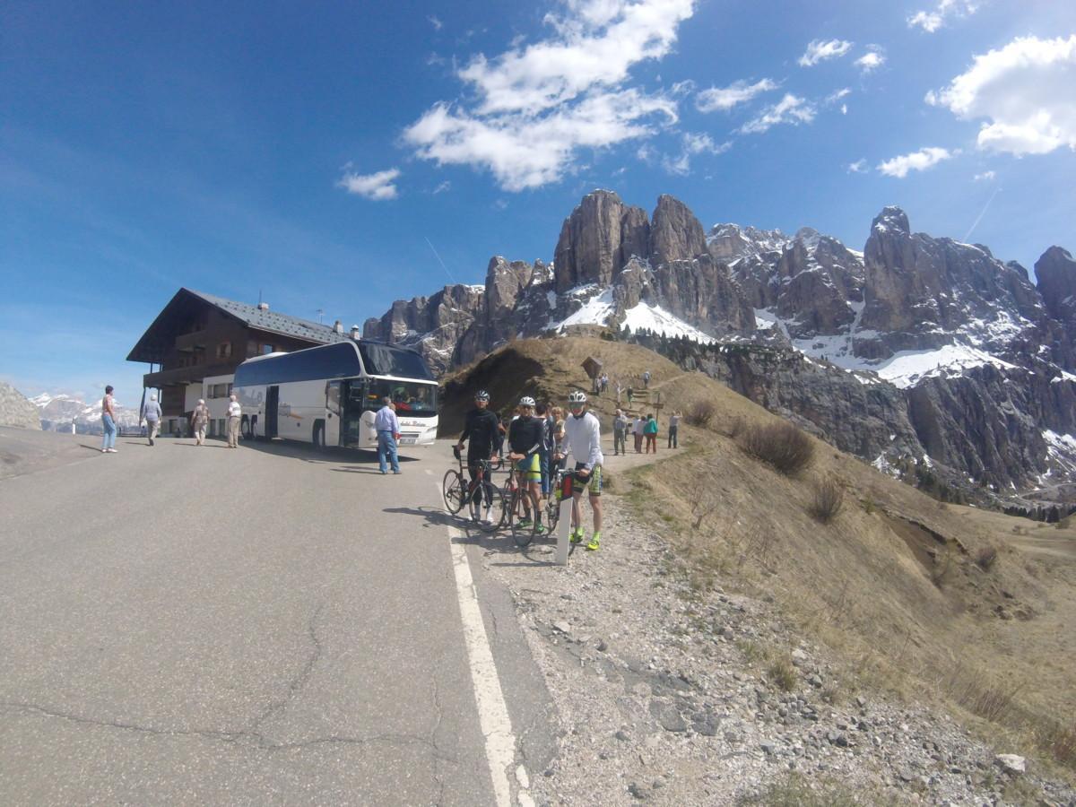 Passo Gardena 2136 m n.v.