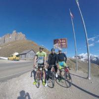 Uspelo nam je! Še zadnji prelaz! Passo Sella 2244 m n.v.