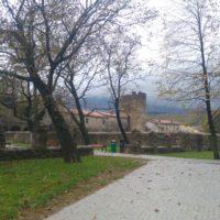 pogled na grajsko obzidje