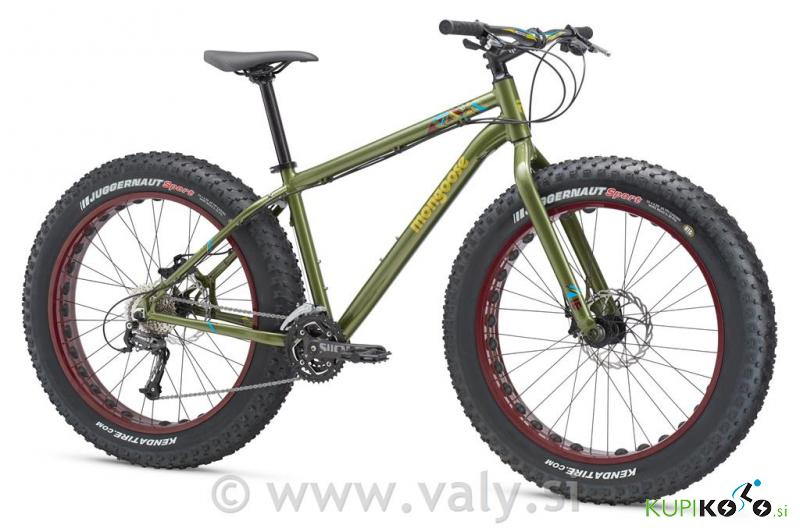 Mongoose Argus Sport Fat Bike kolo zelen