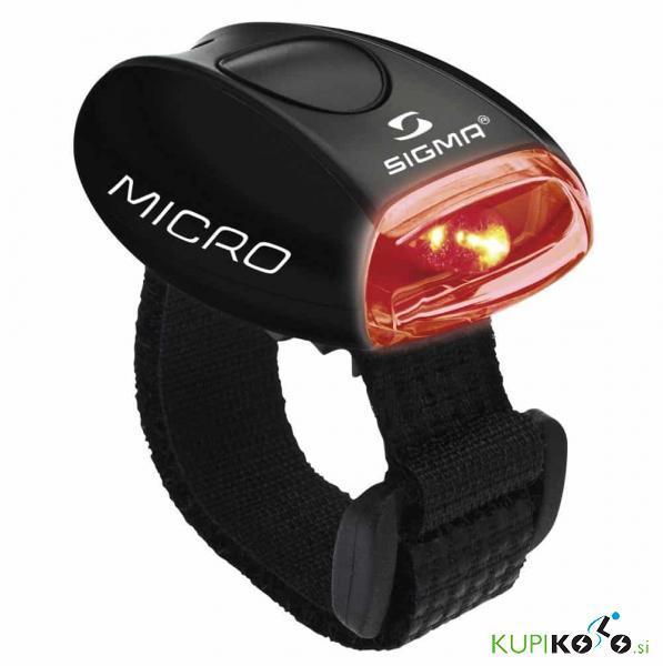 Kolesarska svetilka Sigma Micro (rdeča svetloba)