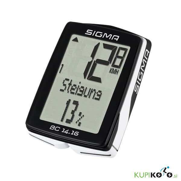 Sigma BC 14.16 višinomer + kadenca (brezžični)
