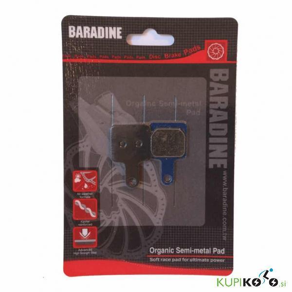 Zavorne ploščice Baradine – Suntour DB, XCC-mc