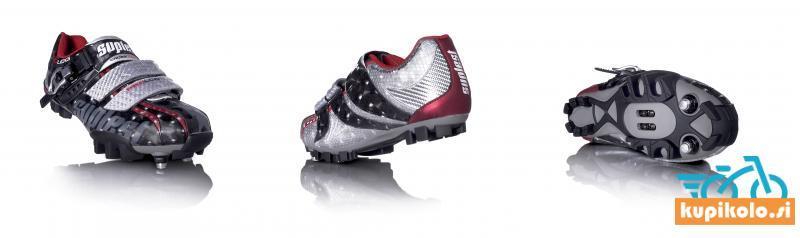 Kolesarski čevlji Suplest Crosscountry Black