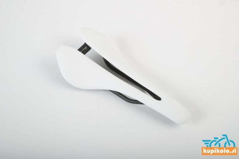 Kolesarski sedež Berk Lupina white padded combo