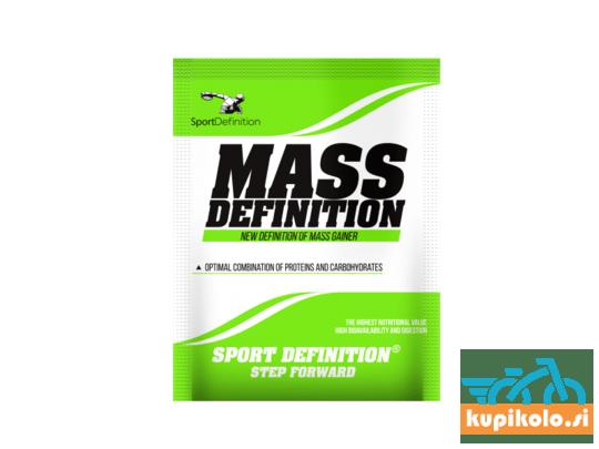 MASS DEFINITION 2:1 - 50G - REGENERACIJSKI NAPITEK - ENKRATNO SERVIRANJE