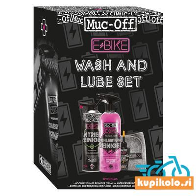 MUC-OFF E-bike SET WASH & LUBE KIT