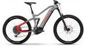 Haibike Električno kolo Haibike AllMtn 6 i600Wh urban grey/black/red m. 2021