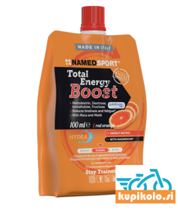 NAMED SPORT TOTAL ENERGY BOOST - RED ORANGE 100ML