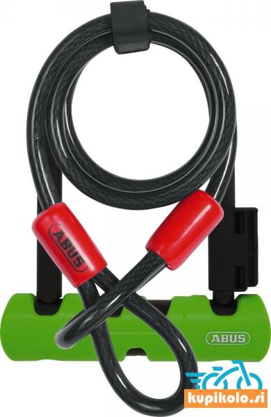 Ključavnica 410/150HB140 Ultra Mini + Cobra 10/120 varnostni lok s pletenico
