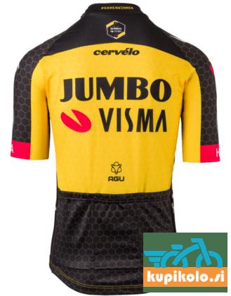 Moški dres kratek rokav TEAM JUMBO-VISMA 2021