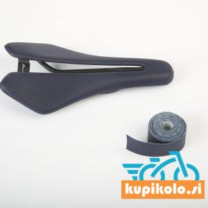 Kolesarski sedež Berk Lupina saddle Navy blue padded combo