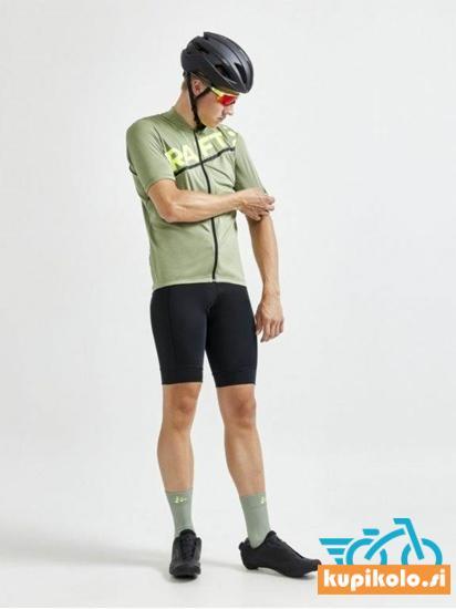 Moška kolesarska kratka majica/dres CRAFT Core Endurance Logo – Forest