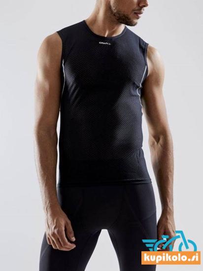 Moška majica brez rokavov CRAFT Cool Mesh Superlight, črna