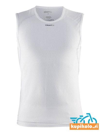 Moška majica brez rokavov CRAFT Cool Mesh Superlight, bela