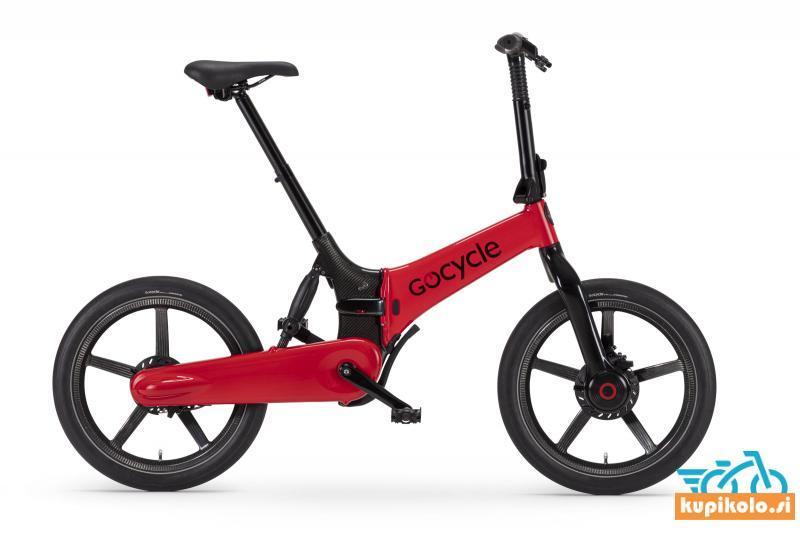GoCycle G4i Plus rdeče sijaj barve