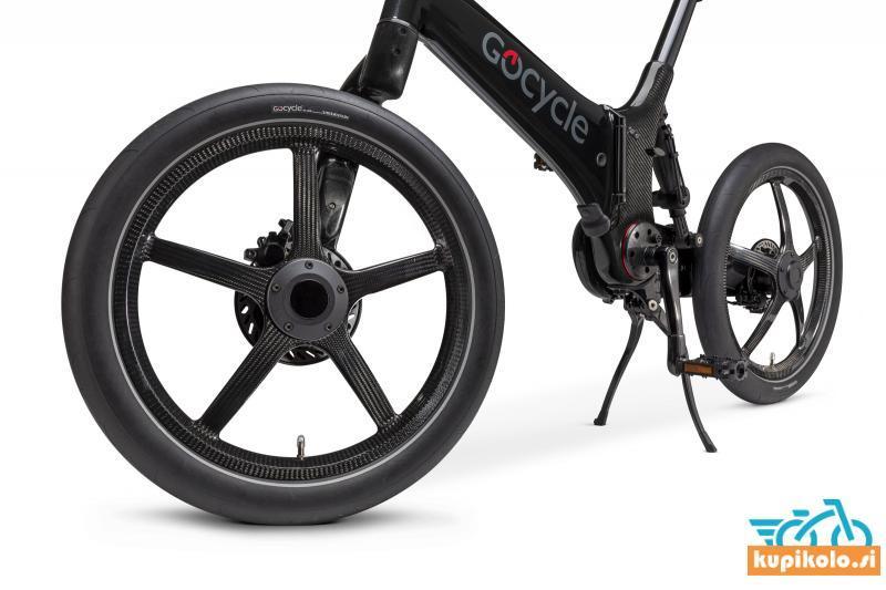 GoCycle G4i Plus črne sijaj barve
