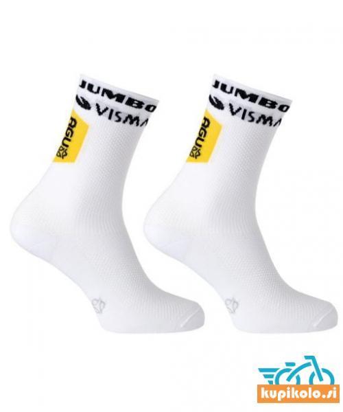 Jumbo Visma kolesarske nogavice