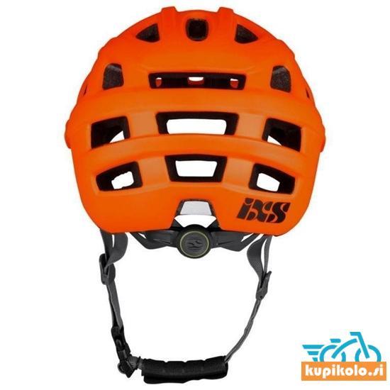 Kolesarska MTB čelada iXS Trail EVO, oranžna