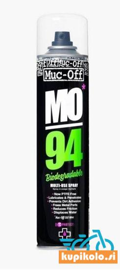 Univerzalno biorazgradljivo mazivo - zaščita pred korozijo MUC-OFF MO-94, 400 ml