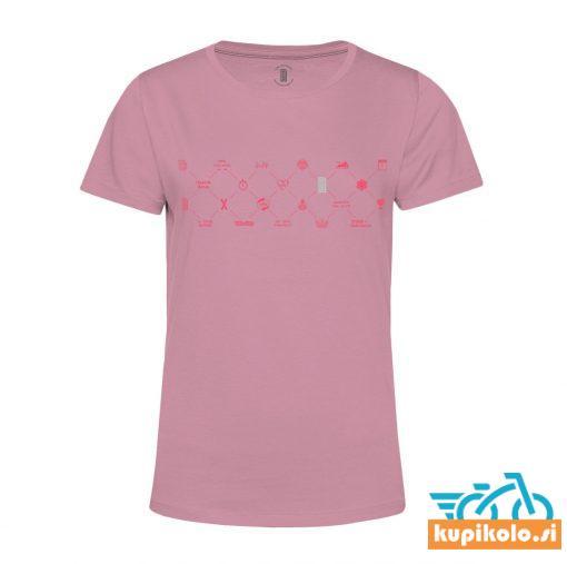 Majica Memory Web Pink