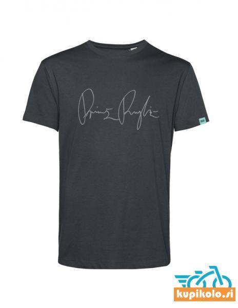 Moška majica PR – temno siva