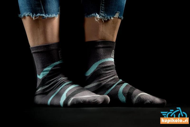 Nogavice PR temno sive