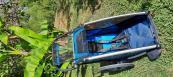Otroška prikolica Thule chariot Cross 1 blue