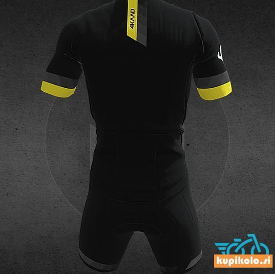 4KAAD Kolesarska Majica PARIS Premium black