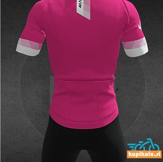 4KAAD Kolesarska Majica PARIS Premium pink