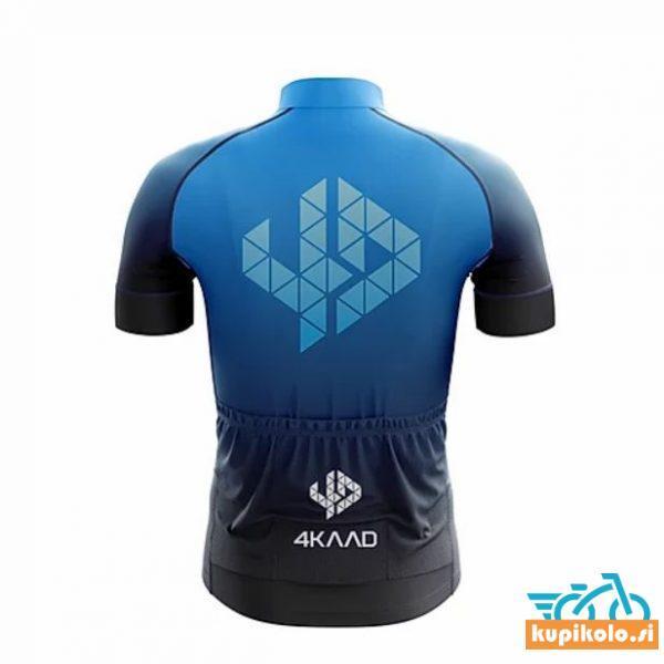 4KAAD Kolesarska Majica TOUR PRO black blue
