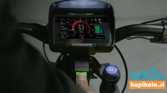 Greyp Električno kolo - eHYPERBIKE Greyp G12S CORE Green (1,2 kW / 1500Wh) - 70 km/h