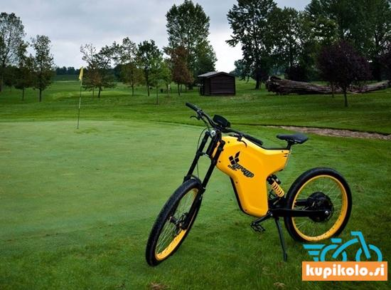 Greyp Električno kolo - eHYPERBIKE Greyp G12S CORE Yellow (1,2 kW / 1500Wh) - 70 km/h