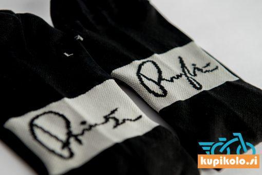 Kolesarske nogavice Primož Roglič – črne