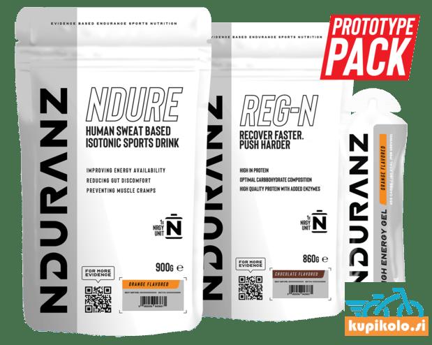 PROTOTYPE PAKET: NDURE + REG-N + 12 NRGY GEL = 49.99 €